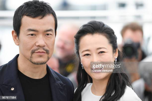 Actress Tao Zha and actor Fan Liao attend the photocall for the 'Ash Is The Purest White ' during the 71st annual Cannes Film Festival at Palais des...