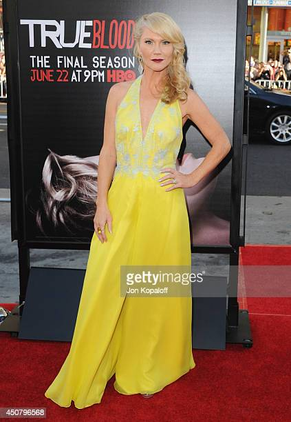 """Actress Tara Buck arrives at HBO's """"True Blood"""" Final Season Premiere at TCL Chinese Theatre on June 17, 2014 in Hollywood, California."""