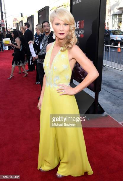 Actress Tara Buck attends Premiere Of HBO's True Blood Season 7 And Final Season at TCL Chinese Theatre on June 17 2014 in Hollywood California
