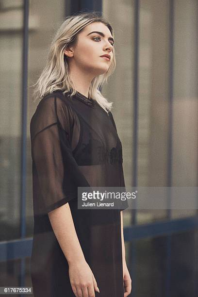 Actress Tara Lee is photographed for Self Assignment on October 1, 2016 in Dinard, France.