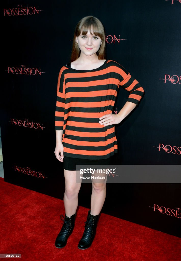 Actress Tara Lynne Barr arrives at the premiere of Lionsgate Films' 'The Possession' at ArcLight Cinemas on August 28, 2012 in Hollywood, California.