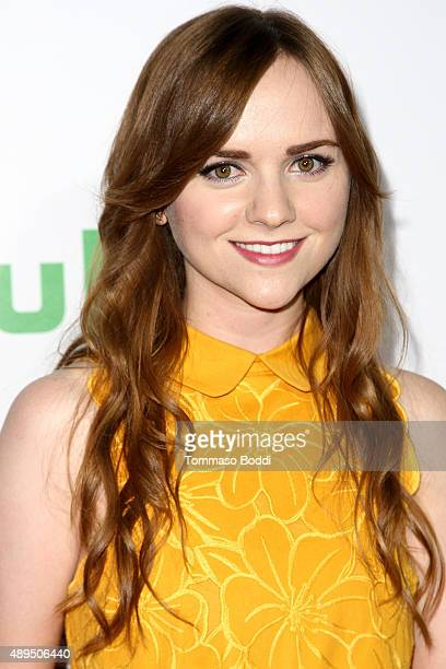 Actress Tara Lynne Barr attends the Hulu Original Casual premiere at Gracias Madre on September 21 2015 in West Hollywood California