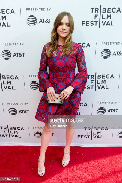 Actress Tara Lynne Barr attends the screening of 'Casual' at SVA Theatre on April 29 2017 in New York City