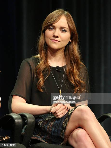 Actress Tara Lynne Barr speaks onstage during the 'Casual' panel at the Hulu 2015 Summer TCA Presentation at The Beverly Hilton Hotel on August 9...