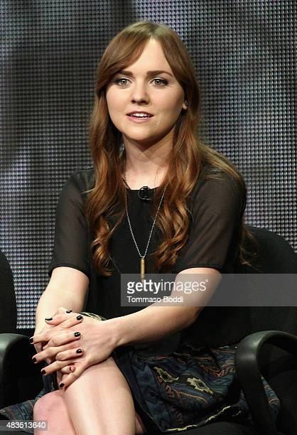 Actress Tara Lynne Barr speaks onstage during the Casual panel at the Hulu 2015 Summer TCA Presentation at The Beverly Hilton Hotel on August 9 2015...