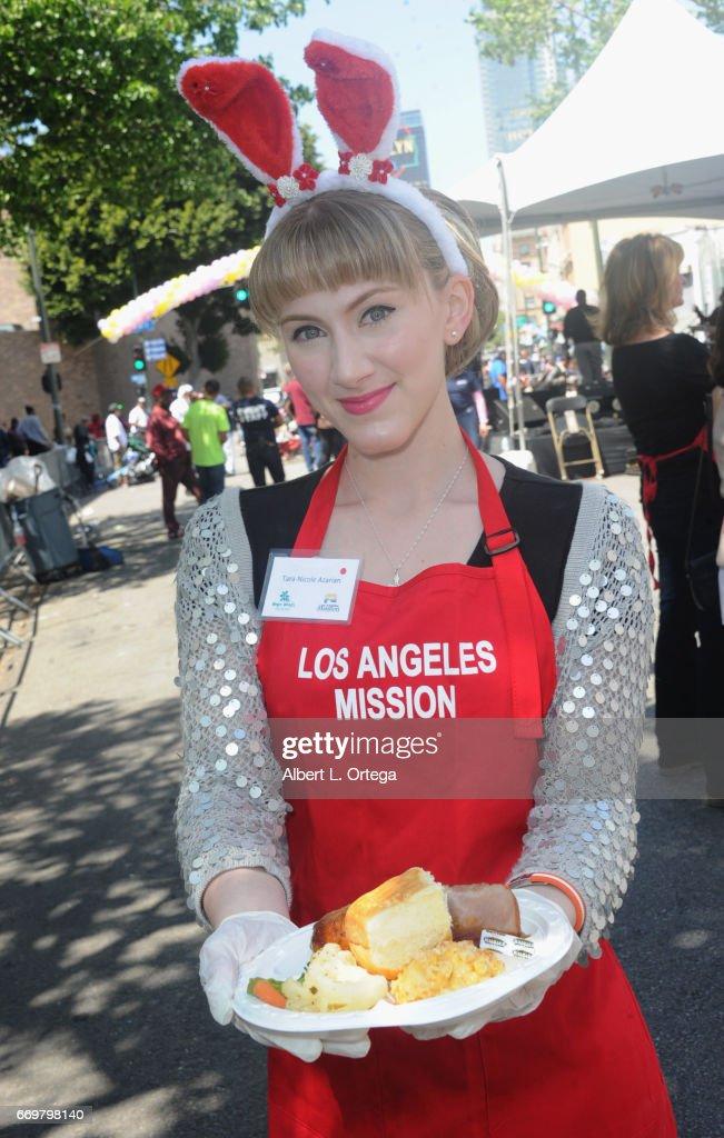 Los Angeles Mission's Easter Celebration : News Photo