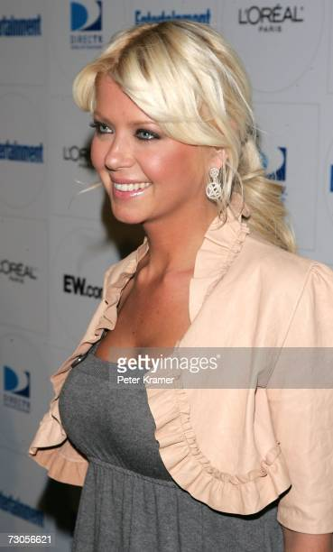 Actress Tara Reid arrives at Entertainment Weekly's celebration of the 2007 Sundance Film Festival and the launch of Sixdegreesorg during the...