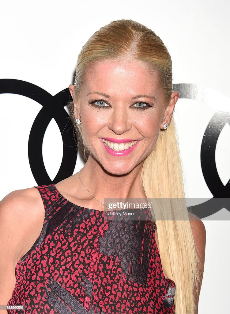 Actress Tara Reid arrives at the Audi Celebrates Emmys Week 2015 at Cecconi's on September 17, 2015 in West Hollywood, California.