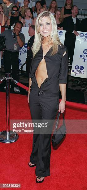 Actress Tara Reid arrives at the ceremony