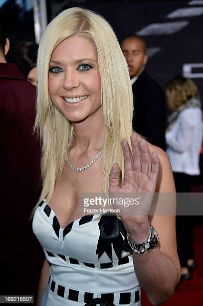 Actress Tara Reid arrives at the Premiere Of Universal Pictures' 'Fast Furious 6' on May 21 2013 in Universal City California