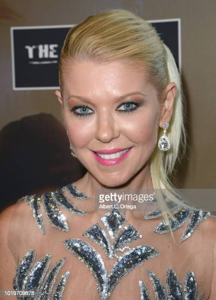 Actress Tara Reid and actress Cassie Scerbo arrive for the Premiere Of The Asylum And Syfy's 'The Last Sharknado It's About Time' held at Cinemark...