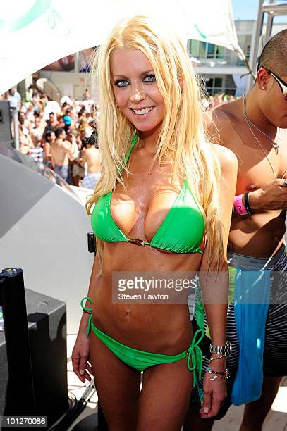Actress Tara Reid attends 2nd annual 'Love Festival' at The Palms Casino Resort on May 29 2010 in Las Vegas Nevada