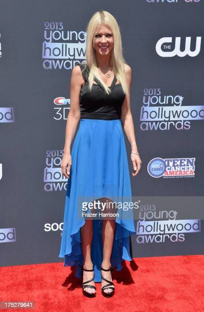 Actress Tara Reid attends CW Network's 2013 Young Hollywood Awards presented by Crest 3D White and SodaStream held at The Broad Stage on August 1,...