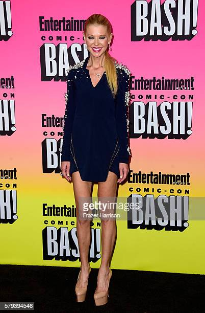 Actress Tara Reid attends Entertainment Weekly's ComicCon Bash held at Float Hard Rock Hotel San Diego on July 23 2016 in San Diego California...