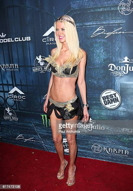 Actress Tara Reid attends Maxim Magazine's annual Halloween party on October 22 2016 in Los Angeles California