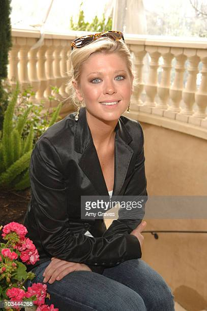 Actress Tara Reid attends the Montblanc Celebration Brunch for Inheriting Beauty and the Montblanc Jewelry Collection hosted by Casey Johnson and...