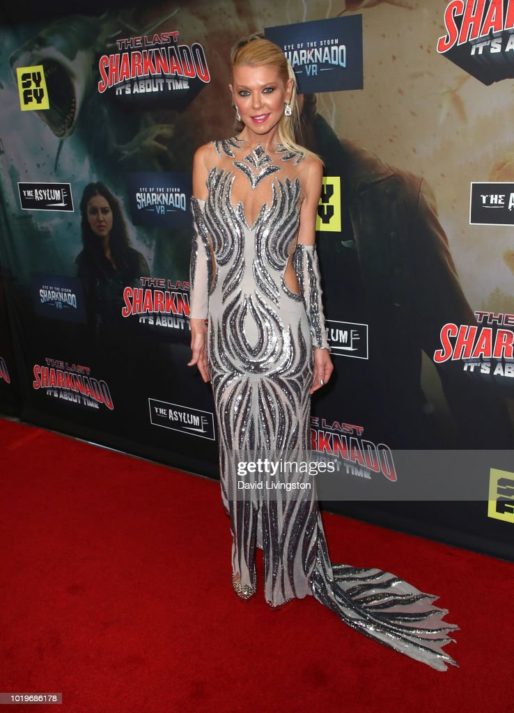 "Premiere Of The Asylum And Syfy's ""The Last Sharknado: It's About Time"" - Arrivals"