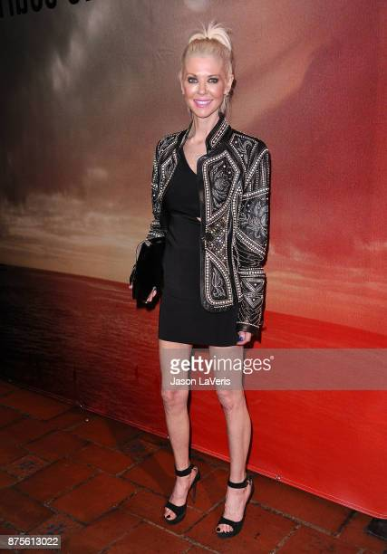 Actress Tara Reid attends the premiere of 'The Tribes of Palos Verdes' at The Theatre at Ace Hotel on November 17 2017 in Los Angeles California