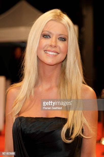 Actress Tara Reid attends the RIM presentation of the new 'BlackBerry Bold' at Kameha Suite on October 21 2009 in Cologne Germany