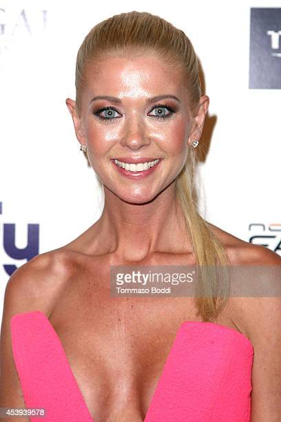 Actress Tara Reid attends the 'Sharknado 2 The Second One' Los Angeles premiere held at LA Live on August 21 2014 in Los Angeles California