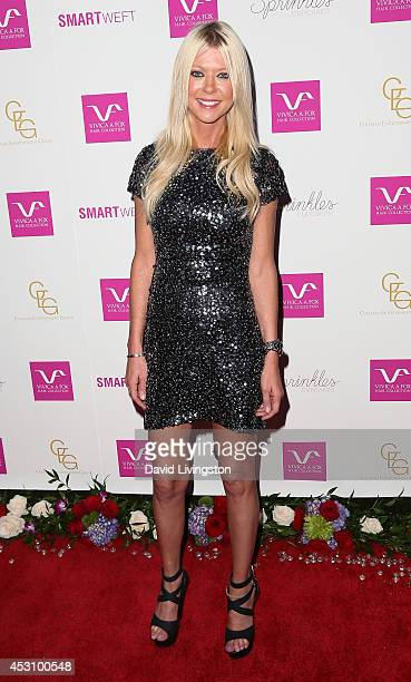 Actress Tara Reid attends the Vivica A Fox 50th birthday celebration at Philippe Chow on August 2 2014 in Beverly Hills California