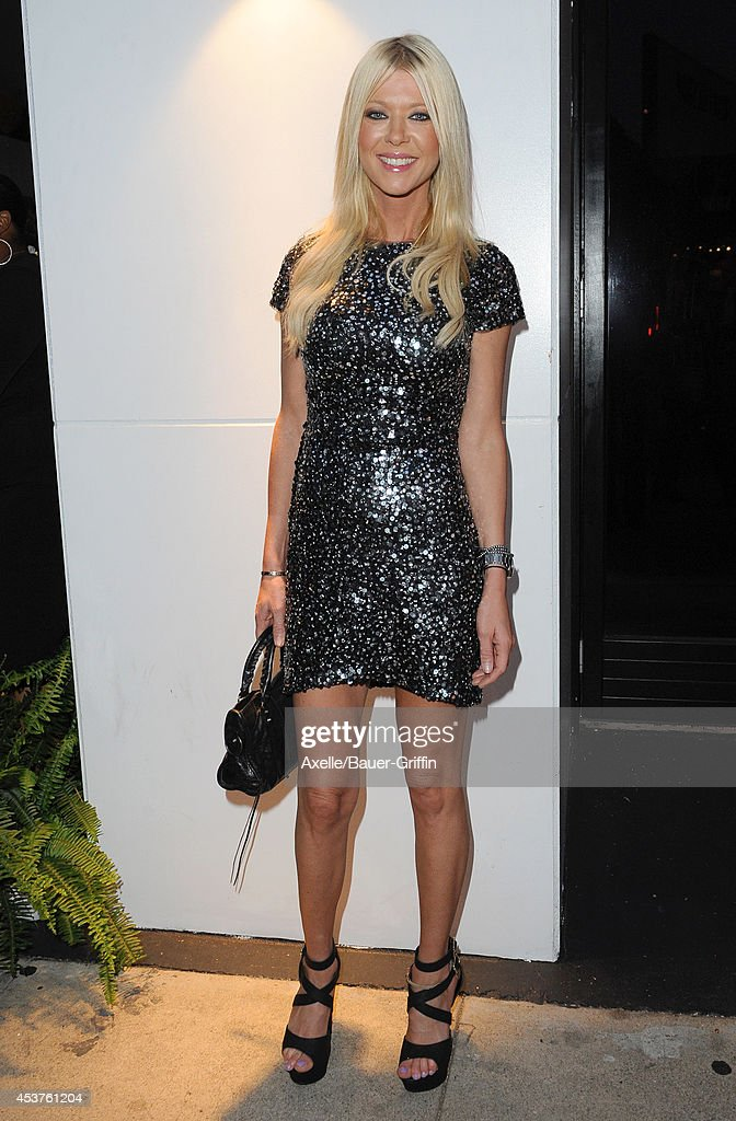 Actress Tara Reid attends Vivica A. Fox's 50th birthday celebration at Philippe Chow on August 2, 2014 in Beverly Hills, California.