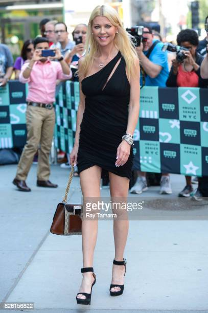 Actress Tara Reid enters the AOL Build taping at the AOL Studios on August 03 2017 in New York City