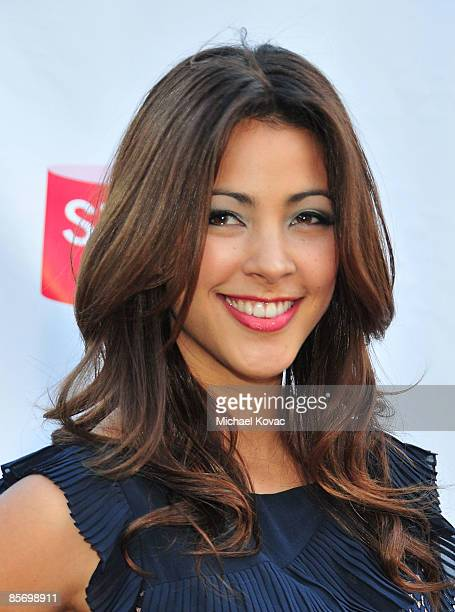 Actress Tara Rushton arrives at the First Annual Streamy Awards at the Wadsworth Theatre on March 28 2009 in Los Angeles California