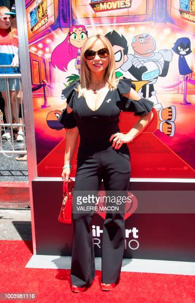 """Actress Tara Strong attends the premiere of Warner Bros. Animations """"Teen Titans Go! to the Movies"""", July 22, 2018 in Hollywood, California."""