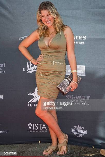 Actress Tara Summers attends the 2nd Annual Boot Ride and Rally at The Happy Ending Bar Restaurant on August 26 2012 in Hollywood California