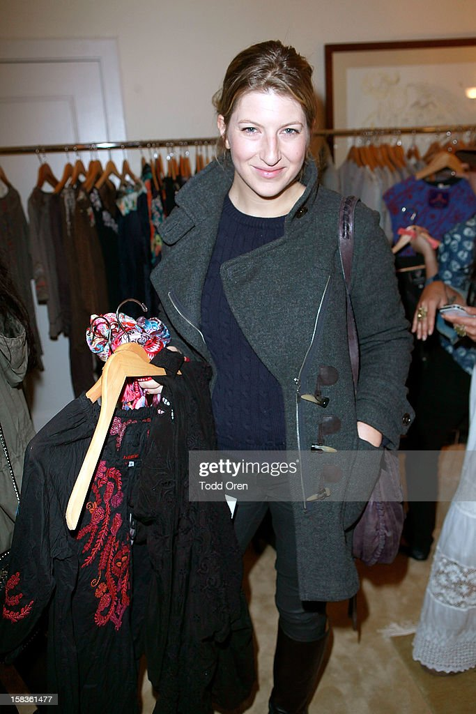 Actress Tara Summers shops at the Johnny Was Holiday Gifting Suite at Chateau Marmont on December 13, 2012 in Los Angeles, California.
