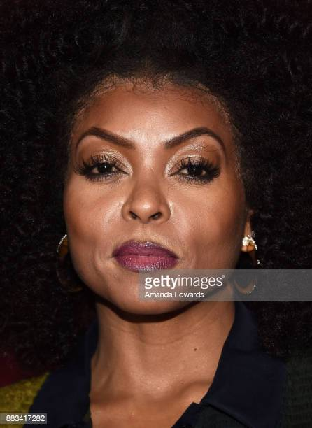 Actress Taraji P Henson arrives at Billboard Women In Music 2017 at The Ray Dolby Ballroom at Hollywood Highland Center on November 30 2017 in...