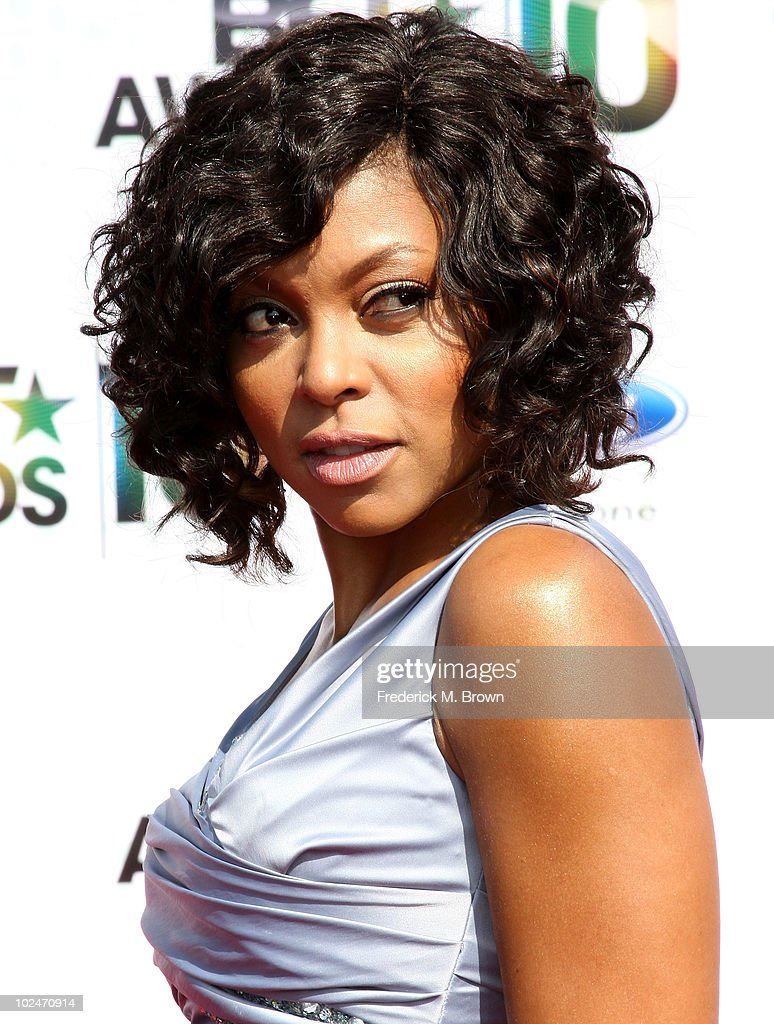 Actress Taraji P. Henson arrives at the 2010 BET Awards held at the Shrine Auditorium on June 27, 2010 in Los Angeles, California.