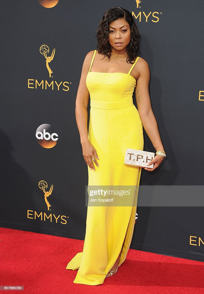 Actress Taraji P. Henson arrives at the 68th Annual Primetime Emmy Awards at Microsoft Theater on September 18, 2016 in Los Angeles, California.