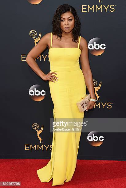 Actress Taraji P Henson arrives at the 68th Annual Primetime Emmy Awards at Microsoft Theater on September 18 2016 in Los Angeles California