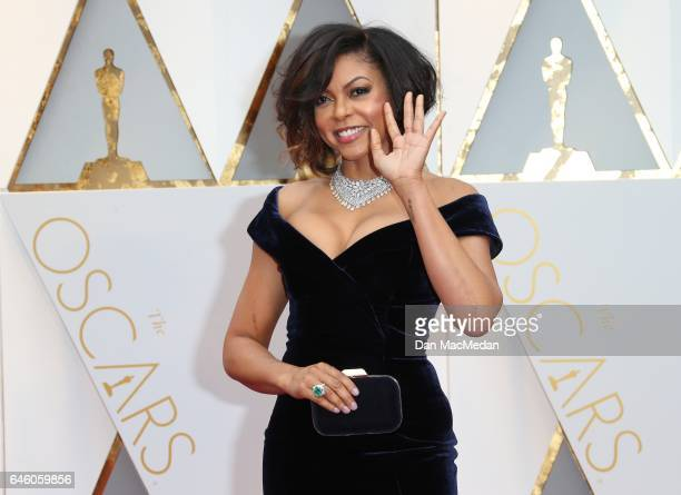 Actress Taraji P Henson arrives at the 89th Annual Academy Awards at Hollywood Highland Center on February 26 2017 in Hollywood California