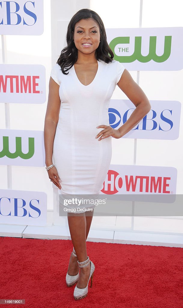 Actress Taraji P. Henson arrives at the CBS, Showtime and The CW 2012 TCA summer tour party at 9900 Wilshire Blvd on July 29, 2012 in Beverly Hills, California.