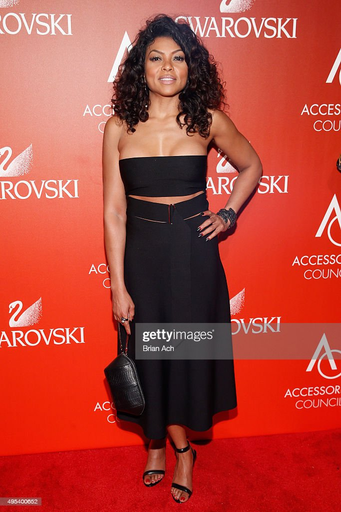Actress Taraji P. Henson attends 19th Annual Accessories Council ACE Awards on November 2, 2015 in New York City.