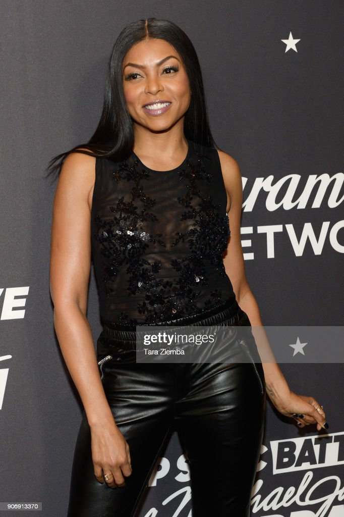 Actress Taraji P. Henson attends Lip Sync Battle Live: A Michael Jackson Celebration at Dolby Theatre on January 18, 2018 in Hollywood, California.