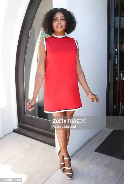 Actress Taraji P Henson attends Taraji's Boutique of Hope on September 22 2018 in Beverly Hills California