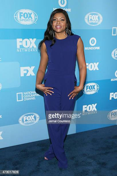 Actress Taraji P Henson attends the 2015 FOX programming presentation at Wollman Rink in Central Park on May 11 2015 in New York City
