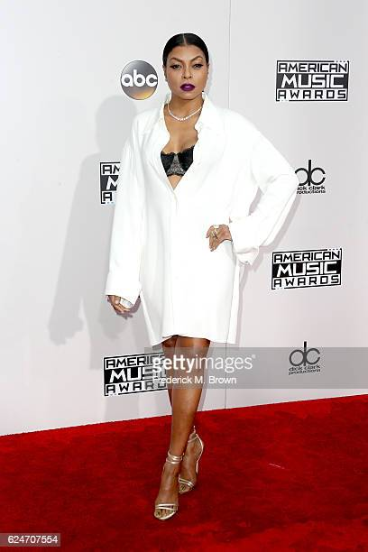Actress Taraji P Henson attends the 2016 American Music Awards at Microsoft Theater on November 20 2016 in Los Angeles California