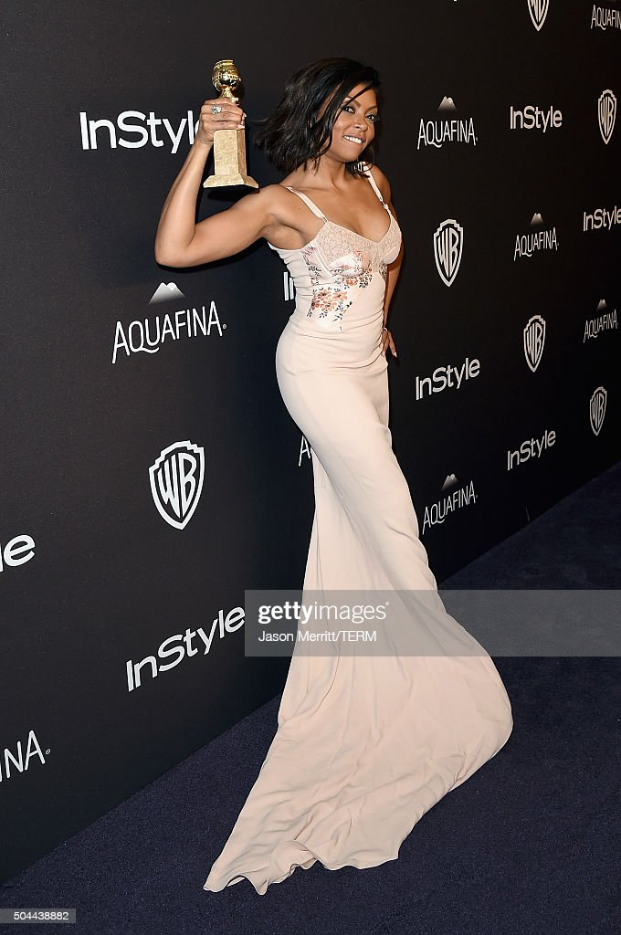 Actress Taraji P. Henson attends The 2016 InStyle And Warner Bros. 73rd Annual Golden Globe Awards Post-Party at The Beverly Hilton Hotel on January 10, 2016 in Beverly Hills, California.
