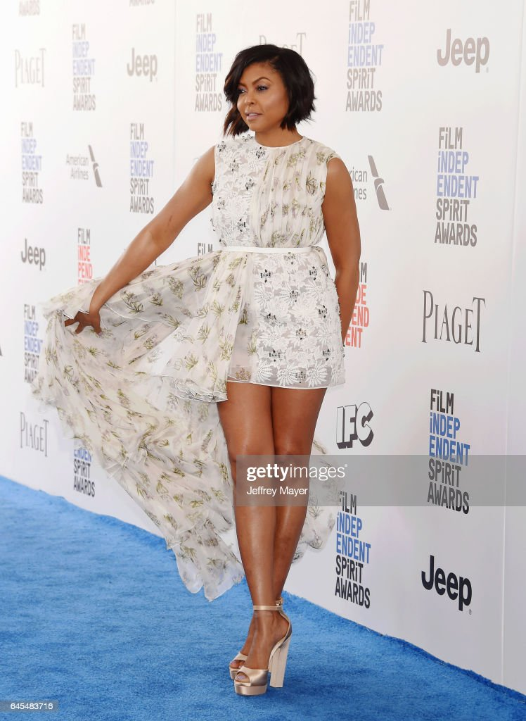 Actress Taraji P. Henson attends the 2017 Film Independent Spirit Awards at the Santa Monica Pier on February 25, 2017 in Santa Monica, California.
