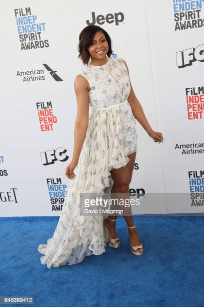 Actress Taraji P Henson attends the 2017 Film Independent Spirit Awards on February 25 2017 in Santa Monica California