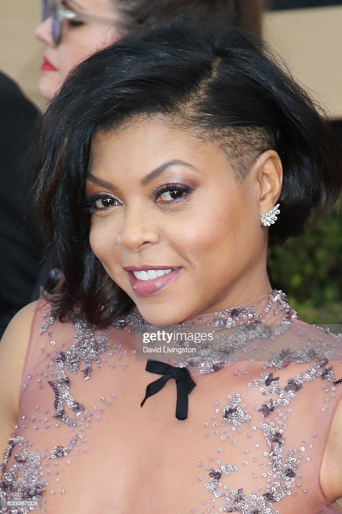 Actress Taraji P. Henson attends the 23rd Annual Screen Actors Guild Awards at The Shrine Expo Hall on January 29, 2017 in Los Angeles, California.