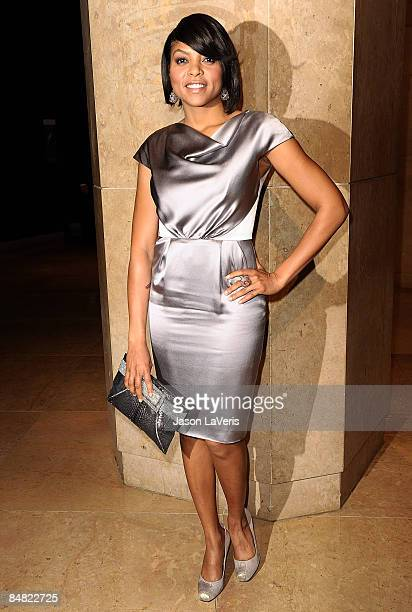 Actress Taraji P. Henson attends the 59th annual ACE Eddie Awards at the Beverly Hilton Hotel on February 15, 2009 in Beverly Hills, California.