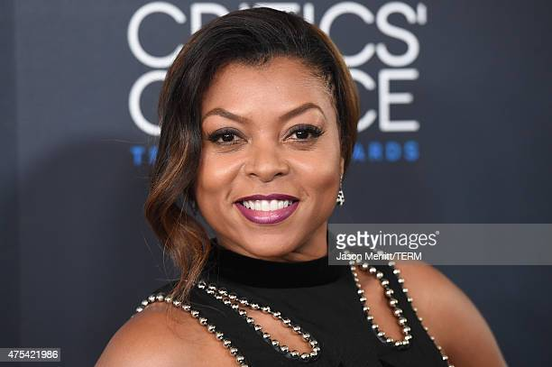 Actress Taraji P Henson attends the 5th Annual Critics' Choice Television Awards at The Beverly Hilton Hotel on May 31 2015 in Beverly Hills...