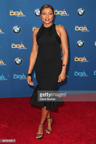 Actress Taraji P Henson attends the 67th Annual Directors Guild Of America Awards at the Hyatt Regency Century Plaza on February 7 2015 in Century...
