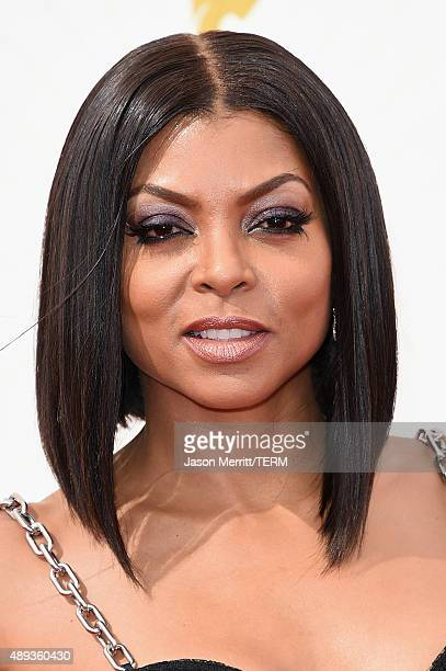 Actress Taraji P Henson attends the 67th Annual Primetime Emmy Awards at Microsoft Theater on September 20 2015 in Los Angeles California